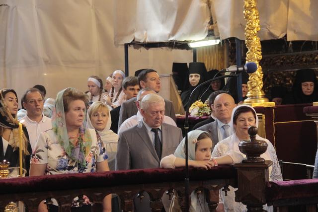 Божественная литургия вчесть Смоленской иконы Божией Матери «Одигитрия»